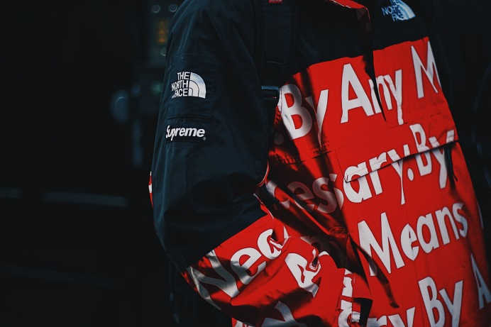 'By Any Means Necessary' Supreme x The North Face