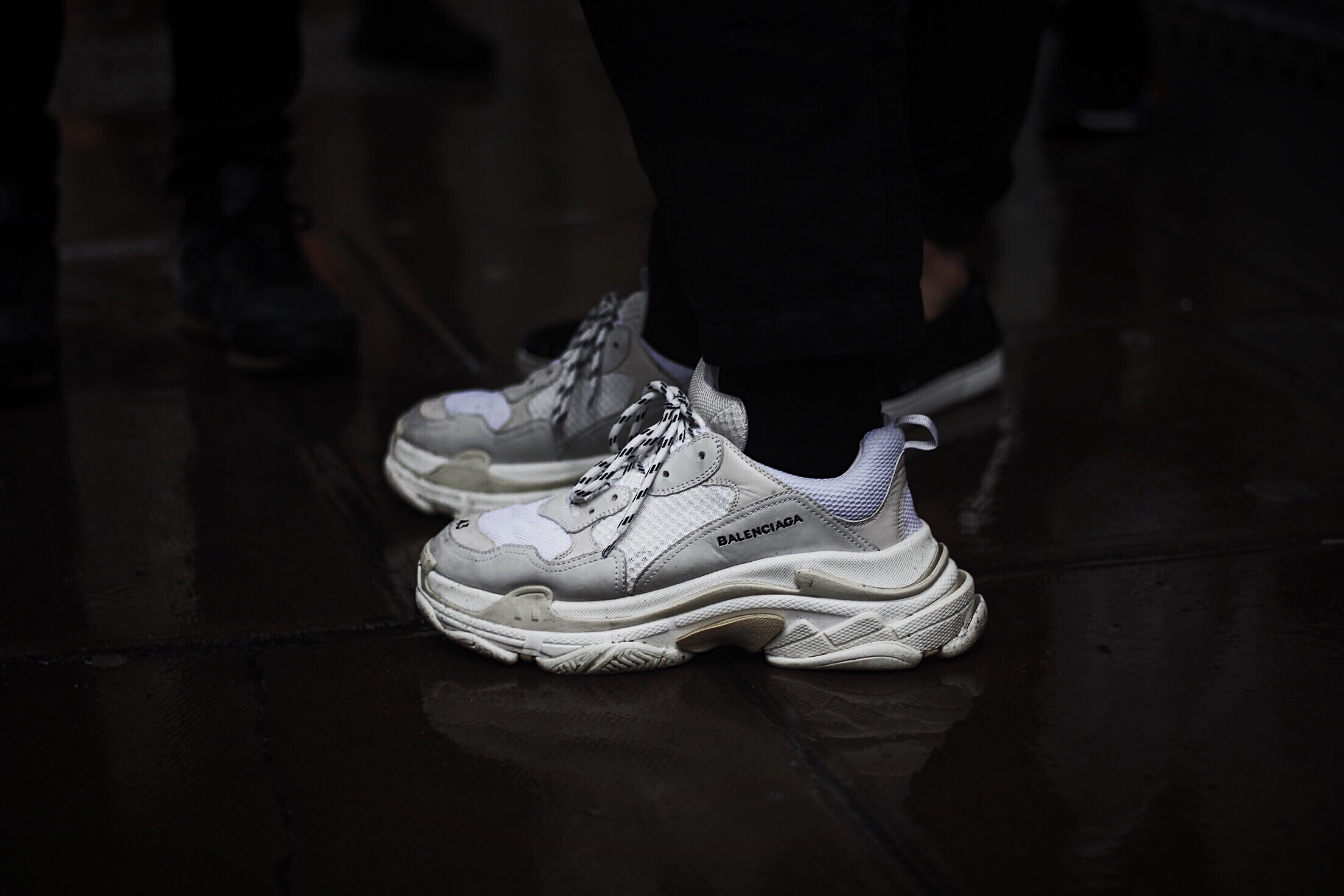 Balenciaga Triple S - White By Eric Brain | GARBPROJECT.